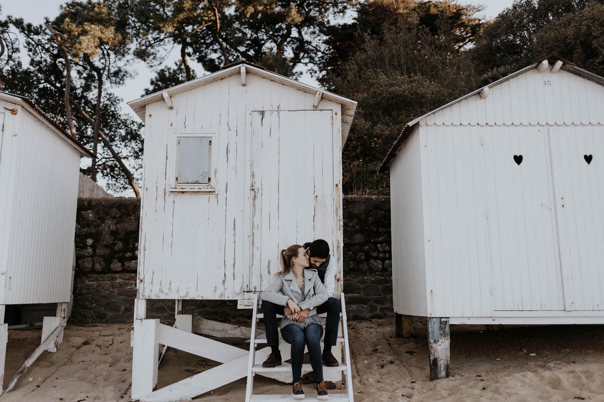 séance engagement noirmoutier photographe nantes