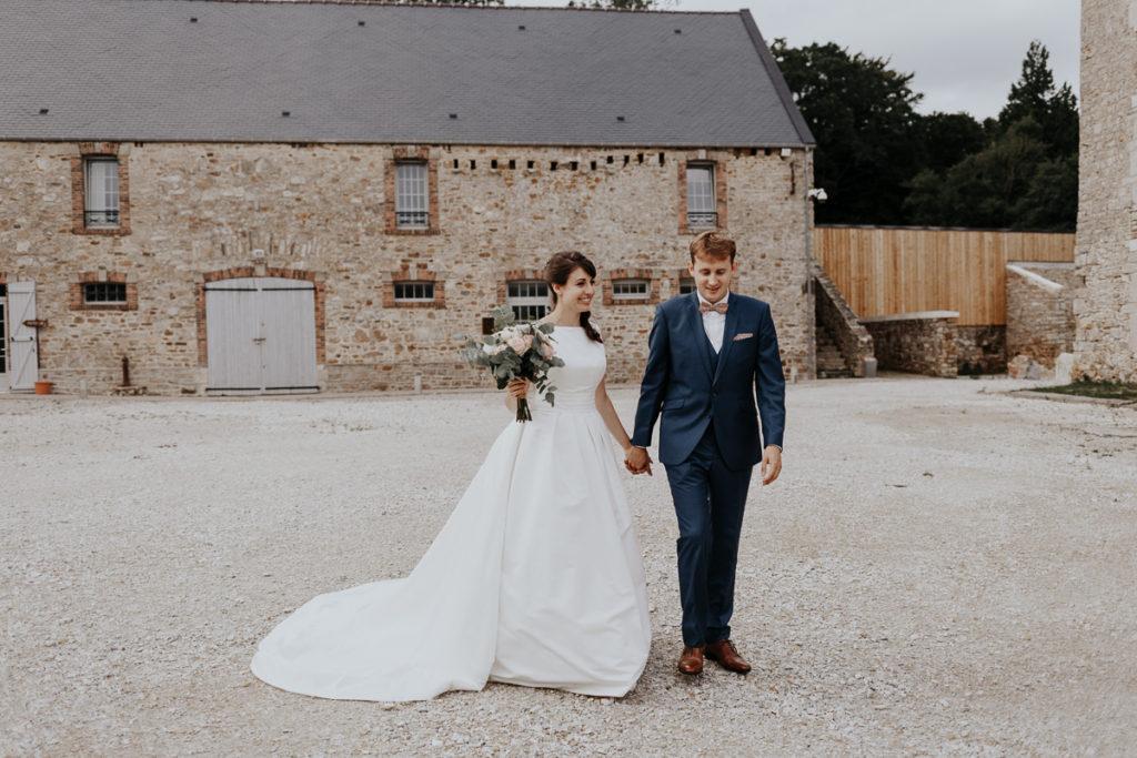 photographe mariage normandie manoir du domaine de la cour