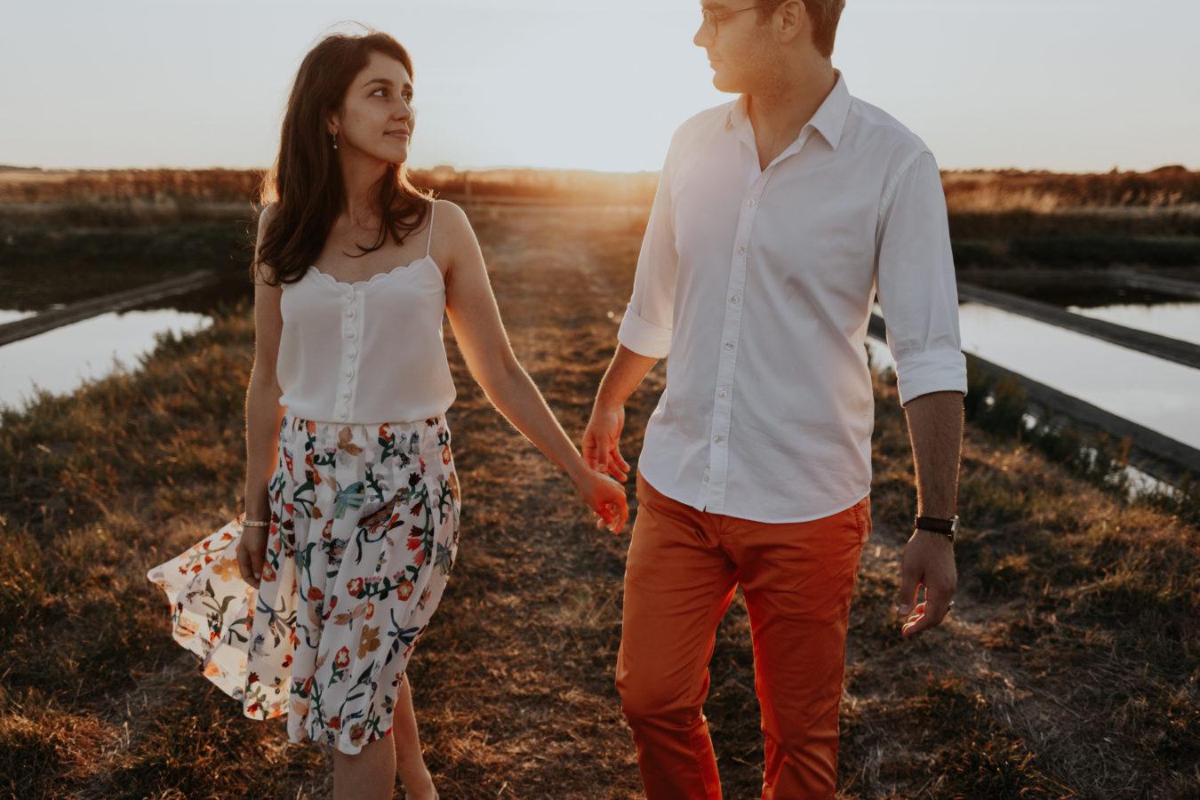 photographe couple noirmoutier marais