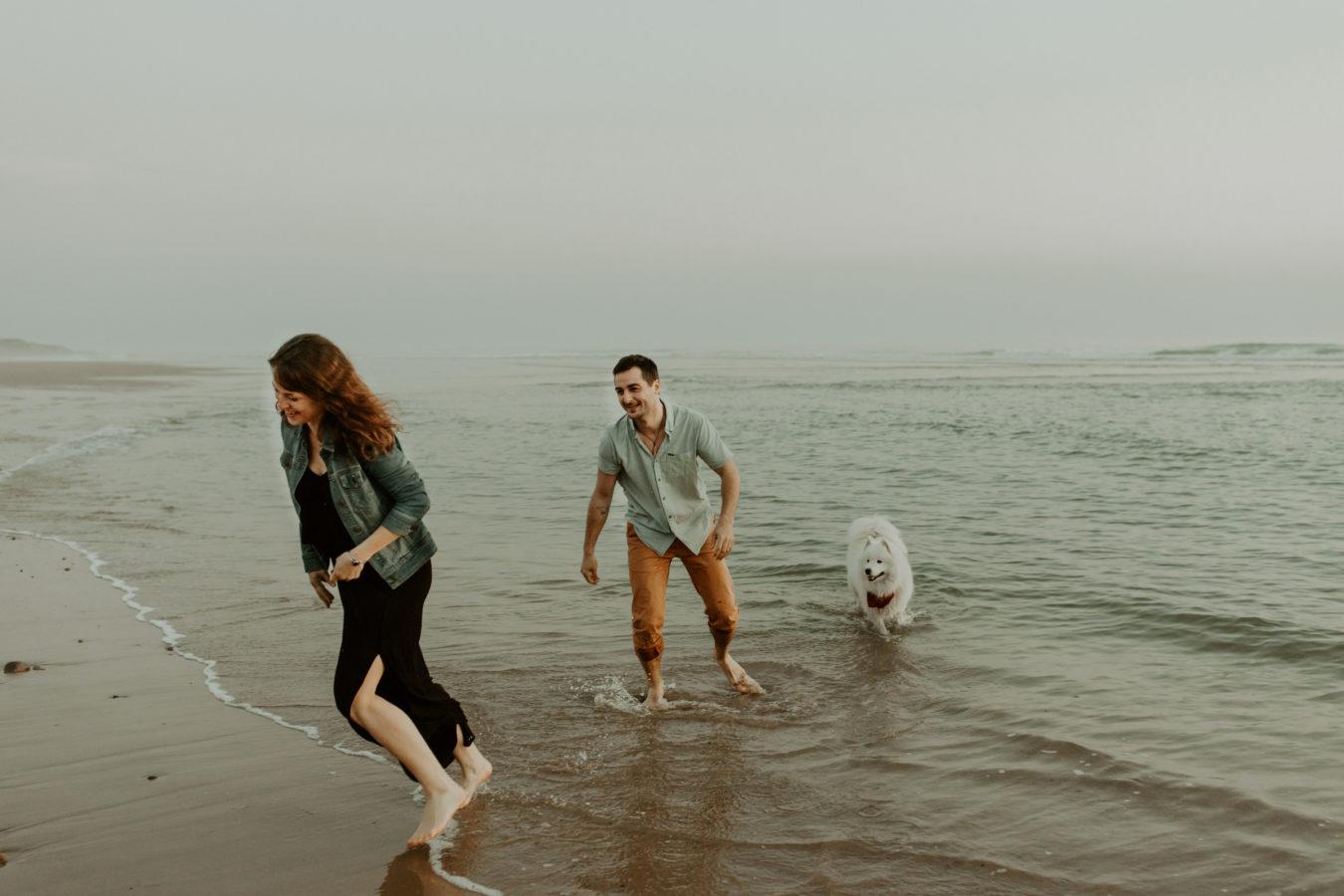 photographe couple Vendée plage